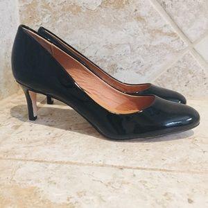 Corso Como Black Linnden Patent Leather Heels 7M